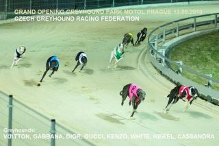 WELCOME TO GREYHOUND PARK MOTOL AND FOUR LEAF RESTAURANT